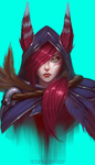 Xayah the Rebel by TheFearMaster