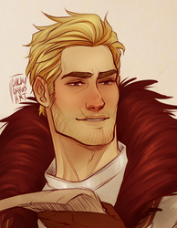 Cullen Rutherford by duckydrawsart
