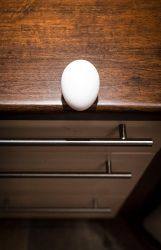 Suicidal Egg by wchild