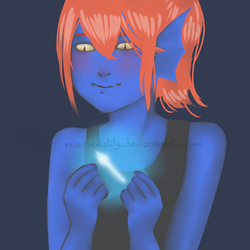 Undertale - Young Undyne vers.2 by MadieDalily