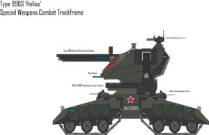 IRS Type 990S Helios Combat Trackframe by Target21