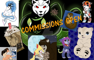 Commissions are OPEN!! by NorthFang