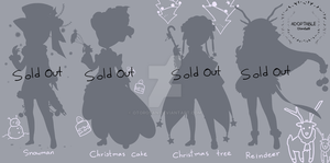 [Close ] Outfit Christmas Adopt Auction V.8 by OtoroSan