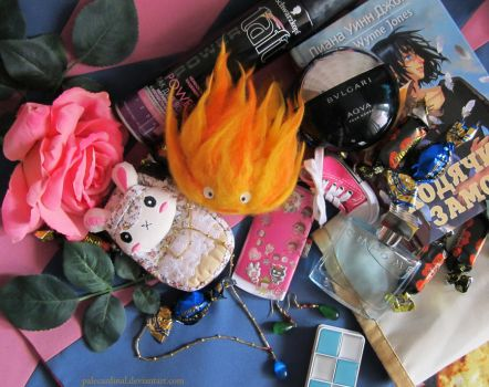 Howl's accessories by palecardinal