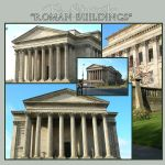 Roman Buildings 1 by E-Stock
