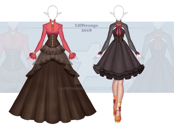 [Close] Adoptable Outfit Auction 231-232 by LifStrange