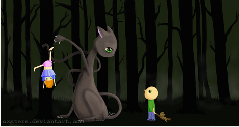 Cats Are Scary by Oxters