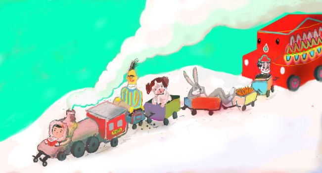 choo chooo tren by muymuy