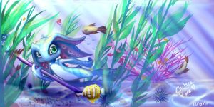 Fizz: Under the Sea by LucciolaCrown