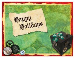Holiday Postcard by marron