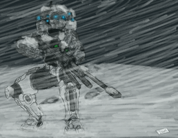 Halo 5 : Linda-058 - Winter Ops by DarjingWriter