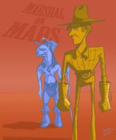 Sparks Nevada: Marshal on Mars by DianeAarts