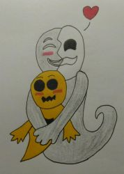 Dramatica and Toothy by Discarded-Cake