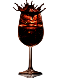 Chocolate drink PNG by Moonglowlilly