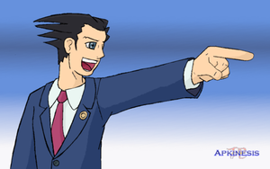 Phoenix Wright for NaruPhoenix by Apkinesis