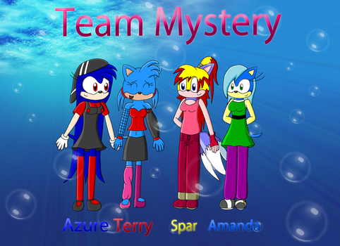 Team Mystery desktop 4-U by Supersonia