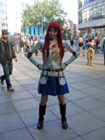 Erza Scarlet Cosplay - Manchester MCM Expo 2012 by scribblingninja