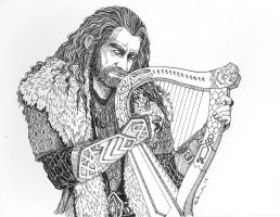 Thorin with Harp by Norloth