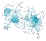 [RESOURCE] Blue Flower PNG by ektamisra