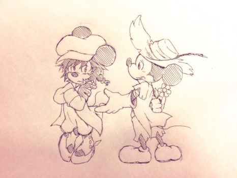 Dorothy and Scarecrow by chumo824
