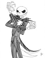 10-26-08 Jack Skelington by dragon-kun15