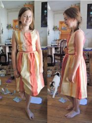 Summer dress for my daughter - Finished by AloiInTheSky