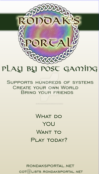 Portal Business card by Sylverthorne