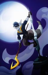 Sly Cooper Commission by Tigerhawk01