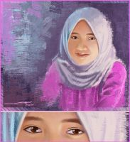 My Junior's Potrait by AWaqas