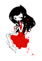 Dressed in red by Valerei