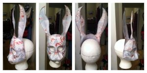 Bioshock Bunny Splicer Mask by n8s