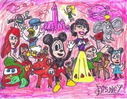 Disney Characters by SonicClone