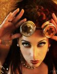 Steampunk: In my sights by NightshadeBeauty