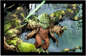 Yoda - May the force be with you. by aethibert