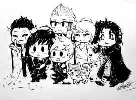 Final Fantasy XV: 1st Anniversary by AngelJay13