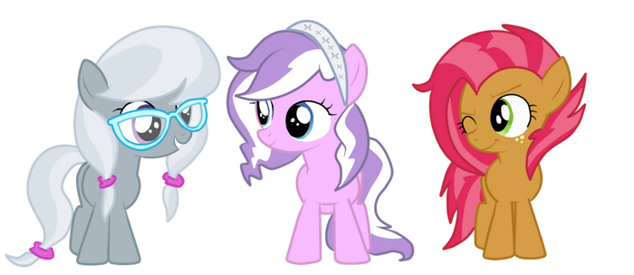 .AU. The Other Cutie Mark Crusaders by shadcream4eva