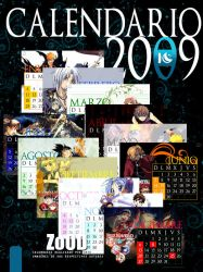 CALENDARIO ANIME 2009 by ICJTBLUE