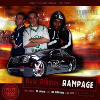 Rampage Cover 1 by BBManik