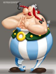 O is for Obelix by manukongolo