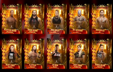 WrestleMania 35 Custom SuperCard Collection by JeriKane