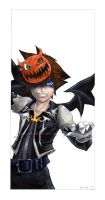 Halloweentown Sora :1 of 4: by Ryasha