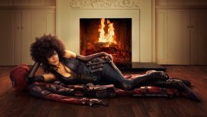 First Look at Zazie Beetz as Domino in Deadpool 2 by Artlover67