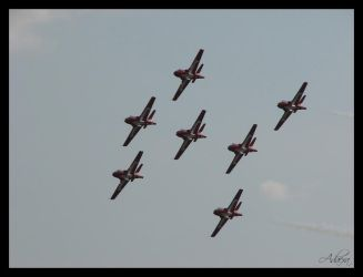 RCAF Snowbirds by Adaera