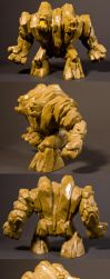 Rock Monster Toy by AreteStock