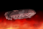 Howl Moving Castle Airship Proyect - Strangia 1 by Lucas1996Garcia