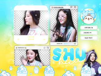SHUHUA | (G) IDLE | PACK PNG by KoreanGallery