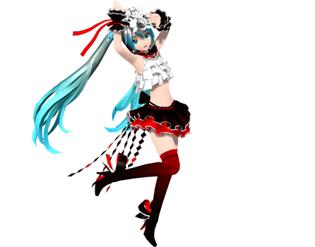 Project Diva Arcade Future Tone Bless You Miku by WeFede