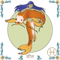 Zodiac - (12) Pisces by empyrean