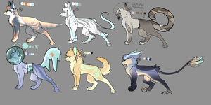 ADOPTS - OPEN (5/6) by Sacred-Heartt