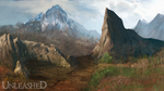 Unleashed-Enviroment concept art-Mountains by Snook-8